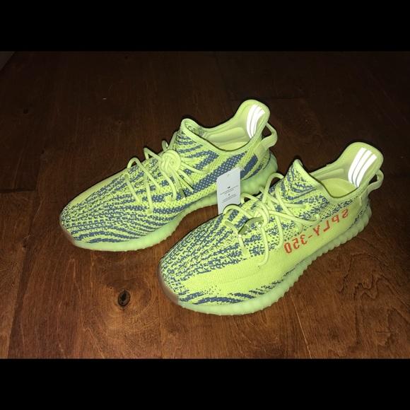 Adidas zapatos Yeezy 350 V2 dswt sin caja poshmark semi - congelado